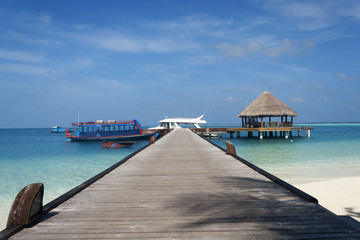 Maldives Jetty Eternity View