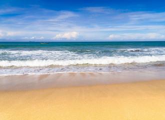 On a Beach Shore Landscape