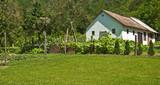 Fototapeta Farmhouse