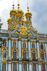 Church of Resurrection in Catherine Palace in Tsarskoye Selo