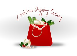 Christmas Shopping Coming
