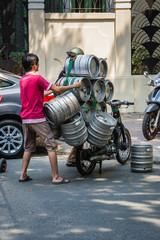Saigon Straßenhandel Vietnam