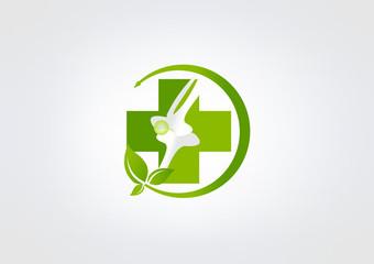 Logo Bone Medical business Icon Abstract Medicine klinik Bone