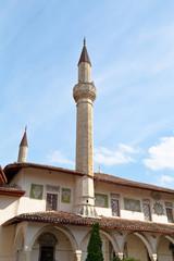 The Big Khan Mosque in Bakhchisarai town