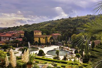 Temporale a Collodi Toscana