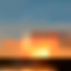 Natural background blur