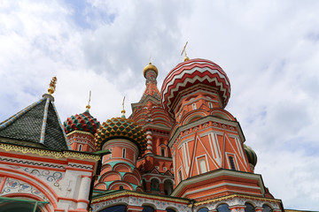 Moscow, Russia, Temple of Basil the Blessed