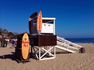 sunny day at malibu  - California