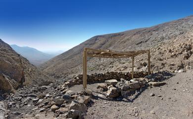 Fuerteventura - Überdachter Picknickplatz