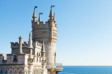 Swallow's Nest palace on South Coast of Crimea