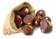 chestnuts in sack
