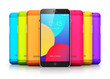 Smartphones with color back covers