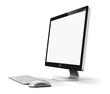Leinwanddruck Bild - Desktop computer