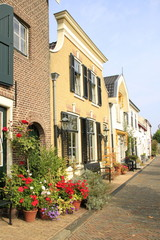 Häuserzeile in Middelharnis