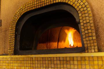 Traditional Italian pizza oven