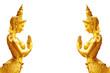 Leinwandbild Motiv Kinnaree - Mythical female bird with a human head.