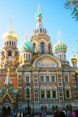 Church of the Savior on Spilled Blood. Saint-Petersburg, Russia.