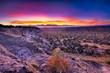 Leinwanddruck Bild - Tsankawi Sunrise