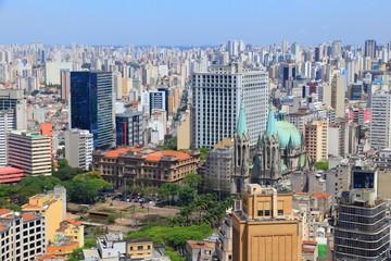 Sao Paulo, Brazil - aerial view