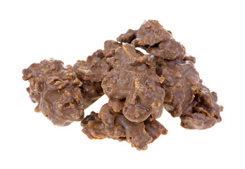 Milk chocolate cornflake clusters