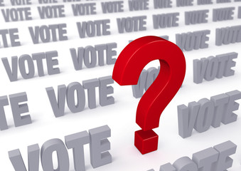 Big Question About Voting