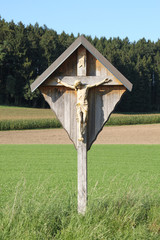 Wegekreuz bei Axtbrunn