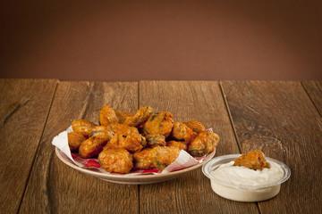 Turkish chop Fried mussels / Midye Tava