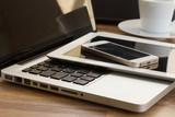 modern computer gadgets - 72073411