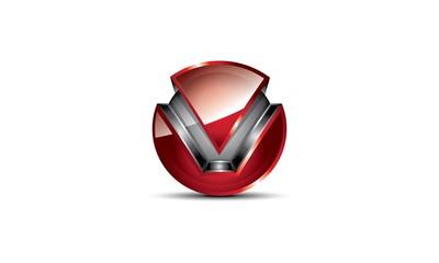 M 3D Logo