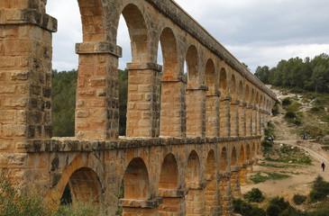 """""""El Pont del Diable"""", a roman aqueduct in Tarragona, Spain"""