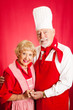 Seniors Cook Together