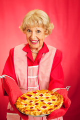 Grannys Home-baked Cherry Pie