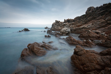 Seascape taken in the north of Sardinia, Italy.