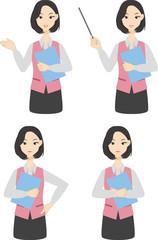 事務 女性 セット