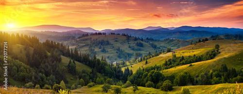 Plexiglas Bergen mountain