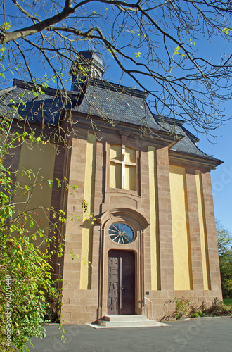 canvas print picture Schlosskirche Liebenburg (Niedersachsen)