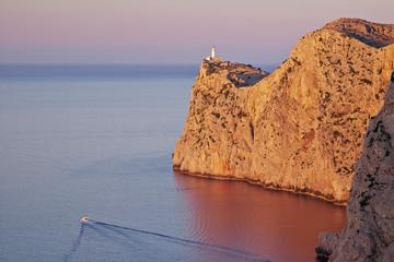 Cape Formentor in Mallorca, Balearic islands, Spain