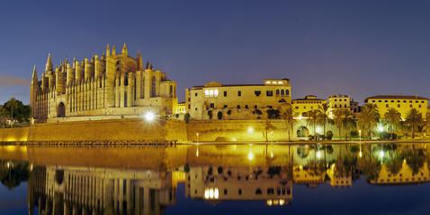 Cathedral of Palma de  Mallorca. Spain