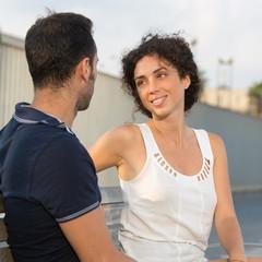 Mit Freundin reden