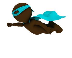 3D Morph Man super hero