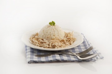 Chicken Breast with Turkish Pilav Rice