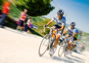 men on bike