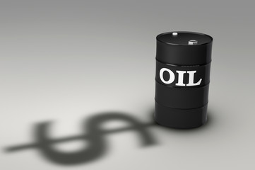 oil barrel shadow