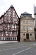 historische Häuser an der Stiftskirche
