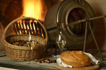 Ribolla castagne y gubana Cocina Friuli Expo Milano 2015