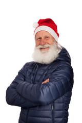Portrait of Santa Claus
