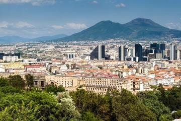 Skyline of Naples