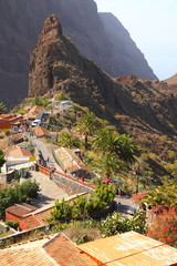 Masca village on the island of Tenerife