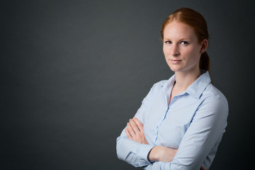 Leadership - Young Business Woman