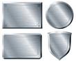 Brushed metal shapes - 72082626